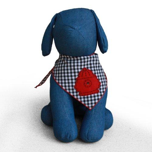 Tail Trends Fire Hydrant Dog Bandana Kerchief (Medium)