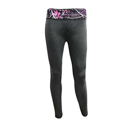 2fb4ca337a Amazon.com: Moon Shine Camo Muddy Girl Gray Yoga Pants: Sports ...