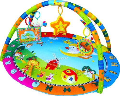 Baby Playmat Play Gym Musical Activity Gym stunning Happy Angel