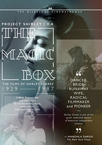 The Magic Box: The Films of Shirley Clarke. 1927-1986: Project Shirley Volume 4 [Blu-ray] by Milestone FIlms