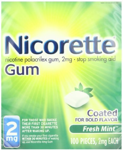 Use this effective nicotine gum to on a regular schedule to prevent cravings throughout the day - Nicorette
