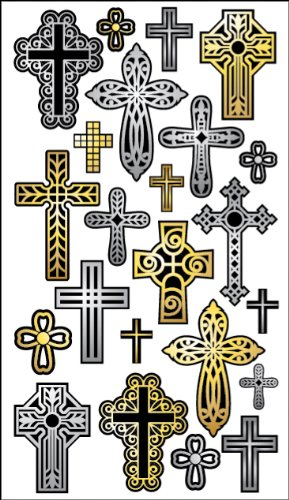 Sticko 457934 Stickers, Cross Repeats