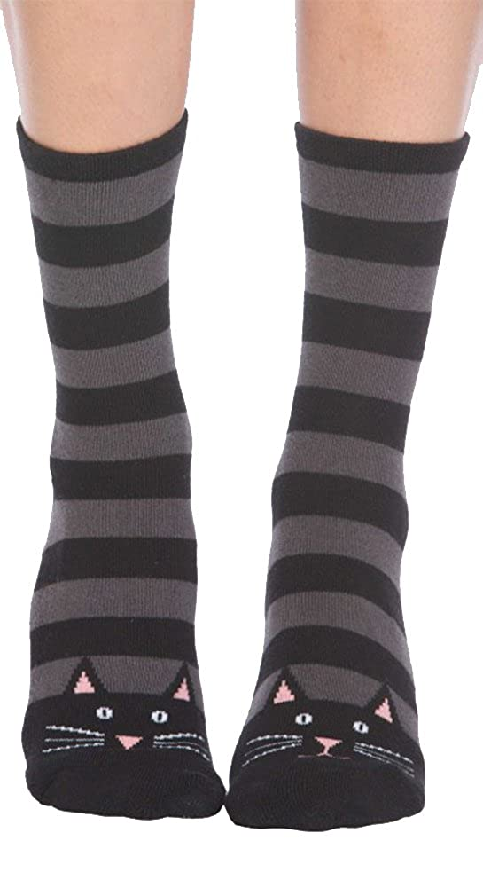 Cat Slipper Socks Foot Traffic SS110