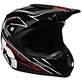 SixSixOne Comp MX Helmet (Black/Red, XX-Large)
