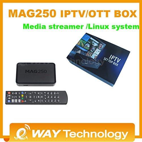 MU sistema linux Envío libre MAG250 / mag 254 caja de IPTV / OTT ...