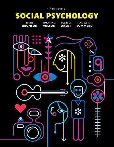 Social Psychology (9th Edition) by imusti