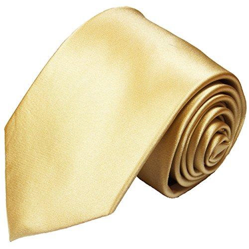 Cravate homme or satiné uni 100% cravate en soie ( longueur 165cm )