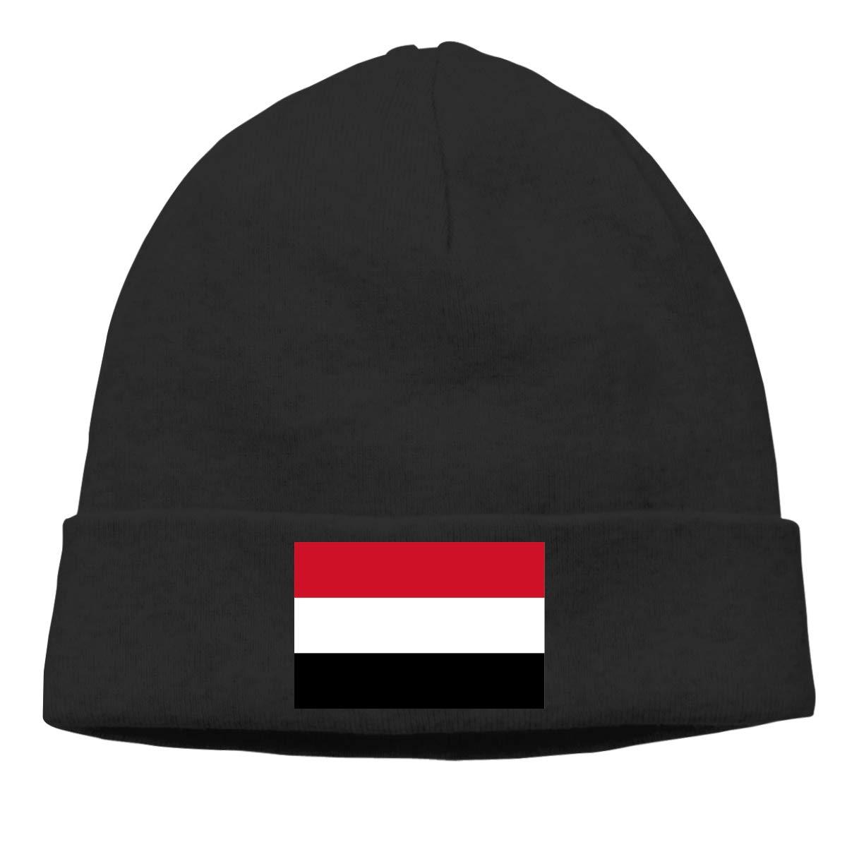 Nskngr Flag of Yemen Cap Men /& Women Comfortbale Soft Serious Beanies Beanie Skull Cap