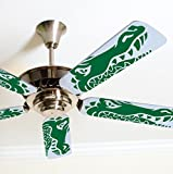 Fancy Blade Ceiling Fan Accessories Blade Cover Decoration, Gator
