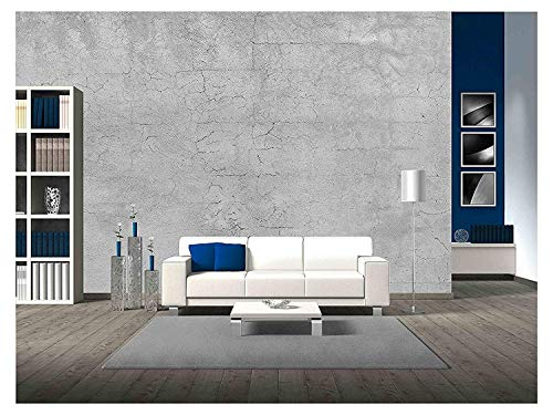 - wall26 - Damage Concrete - Removable Wall Mural | Self-Adhesive Large Wallpaper - 66x96 inches
