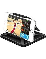 Supporto Smartphone per Auto Cruscotto - Universale Antiscivolo Porta Cellulare Auto per telefoni per iPhone X 8 7 Plus Galaxy Note 8 S9 S8 Plus Bordo S7 e Smartphone da 3 Pollici o Dispositivi GPS