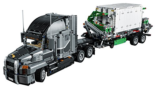 51hWrkqcCSL - LEGO Technic Mack Anthem 42078 Semi Truck Building Kit and Engineering Toy for Kids and Teenagers, Top Gifts for  Boys (2595 Piece)