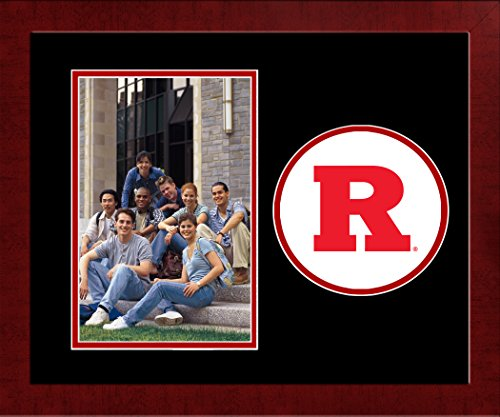 (Campus Images NCAA Rutgers Scarlet Knights Spirit Photo Frame (Vertical))