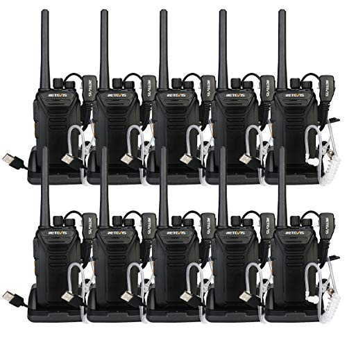 Retevis RT27V VHF Walkie Talkies for Adults Rechargeable MURS 5