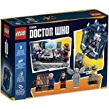 LEGO Doctor Who TARDIS Set, Iconic TARDIS, Eleventh Doctor's Fez and the Doctor's