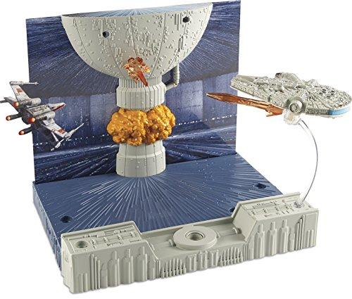- Hot Wheels Star Wars Millennium Death Star Attack
