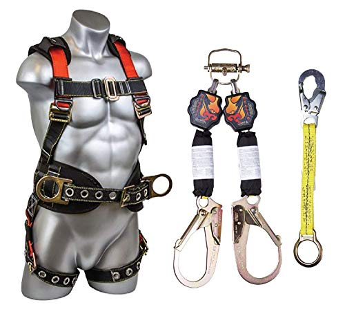 (Guardian Fall Protection 11054 +11174+01121 Diablo Kit - Integral Construction Applications: Fall Arrest/Positioning/Restraint/Confined space/Rescue)