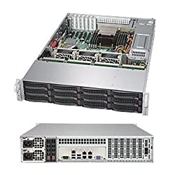 Supermicro SuperStorage Server 6028R-E1CR12H - Server - Rack-Mountable - Barebone 2U Storage for 2 E5-2600 v3 SSG-6028R-E1CR12H