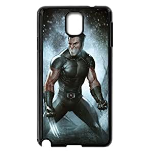 Wolverine Comic Samsung Galaxy Note 3 Cell Phone Case Black TPU Phone Case SV_327756