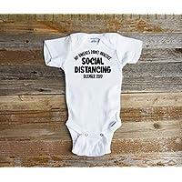 My Parents Did Not Practice Social Distancing Quarantine Pregnancy Announcement Onesie Baby Reveal Bodysuit