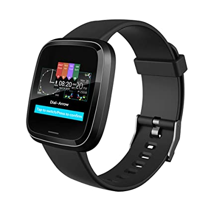 Amazon.com: ZUKN Touch Screen Smart Bracelet, Fitness ...