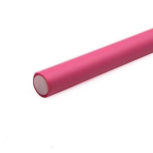 Amazon.com: eDealMax 10 piezas DE 18 mm de diámetro Magenta Inicio de belleza bricolaje rizador de Los fabricantes de espuma Suave Bendy torcedura Rizos de ...
