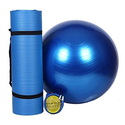 Amazon.com: HONGNA Yoga Set Two-Piece Yoga Mat Thickening ...