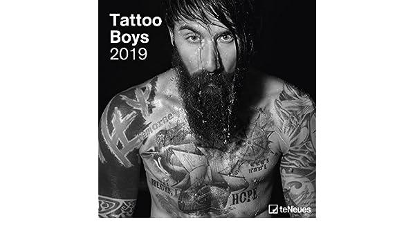 Tattoo Boys - broschur - Calendario 2019 - teneues de Verlag ...