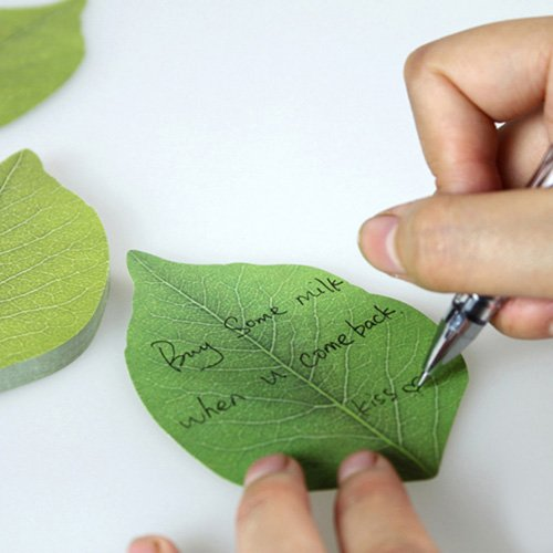 Creative Cute Tree leaf Paper notes Sticky notes memo paper
