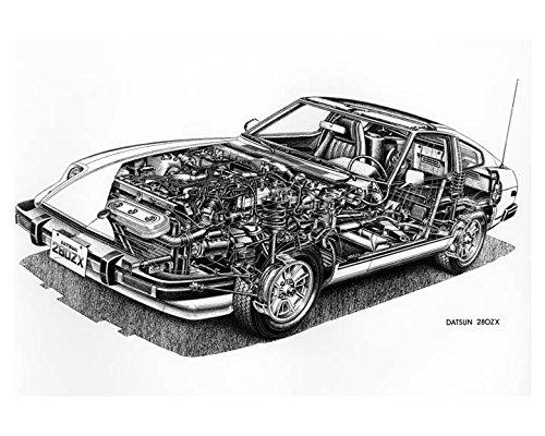1979 Datsun 280ZX Automobile Photo Poster