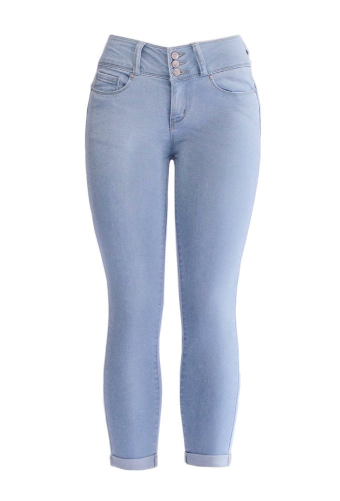 WAX JEAN - Butt,I Love You Push- Up Jeans (7, Light)