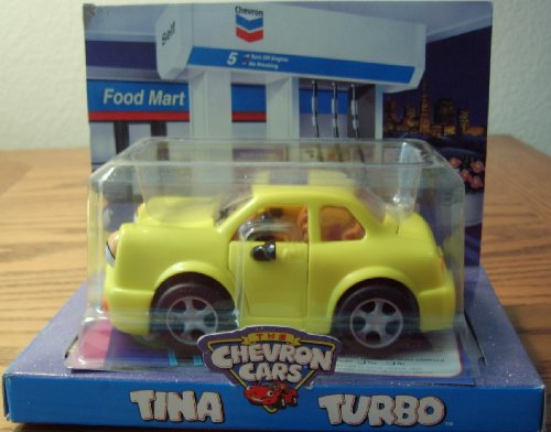 Chevron Toy Car Tina Turbo - Chevron Toy Cars