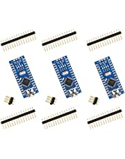 ELEGOO Nano Board CH340/ATmega328P, Compatible with Arduino Nano V3.0 (Pack of 3 Without Mini USB Cable)