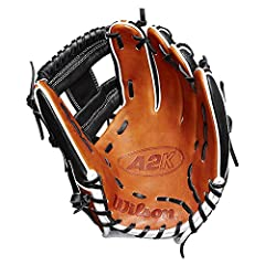 The A2K 1786 is Wilson's most popular model infield glove. This all-new design features the same H-Web preferred by so many infielders. This year's model combines Black SuperSkin with a classic combination of Copper and WhitePro Stock Select ...
