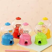 Interesting® 1PC Funny Candy Machine Sweet Saving Box Favors Colorful Piggy Bank Children Kids Gift (Yellow)