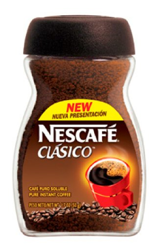 Nescafe clasico, 1.7-ounce jars pack of 12