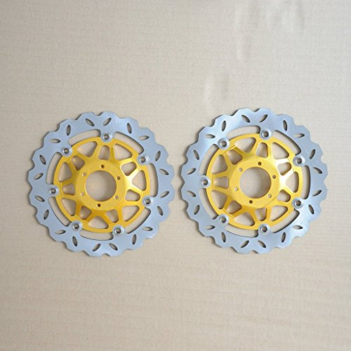 Liquor Motorcycle New Pair 2 Pieces Front Brake Rotor Disc For Honda CBR600 1999-2000 VFR800 CBR900 1992-1993 XL1000