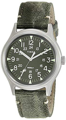 Timex MK1 Green Dial Canvas Strap Men's Watch TW2R68100