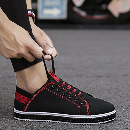 Yellow Estate casuali 40 Espadrillas scarpe basse uomo Size di traspiranti selvaggia coreano tela Red scarpe Color Scarpe da da scarpe nuove ginnastica wIRUCqIa