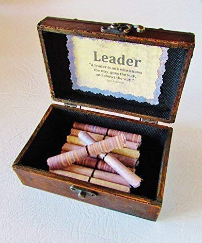 Boss Gift Idea Leadership Scroll Box Unique Day Christmas Birthday Quotes In