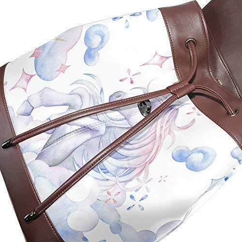 Sac à au dos pour porté unique Taille femme DragonSwordlinsu multicolore main q5wFxdqnT