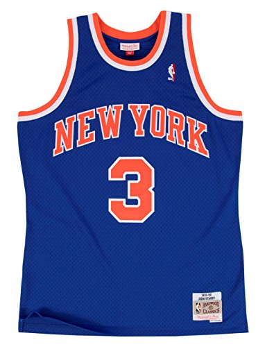 John Starks New York Knicks Mitchell & Ness NBA Swingman HWC Jersey - Blue ()