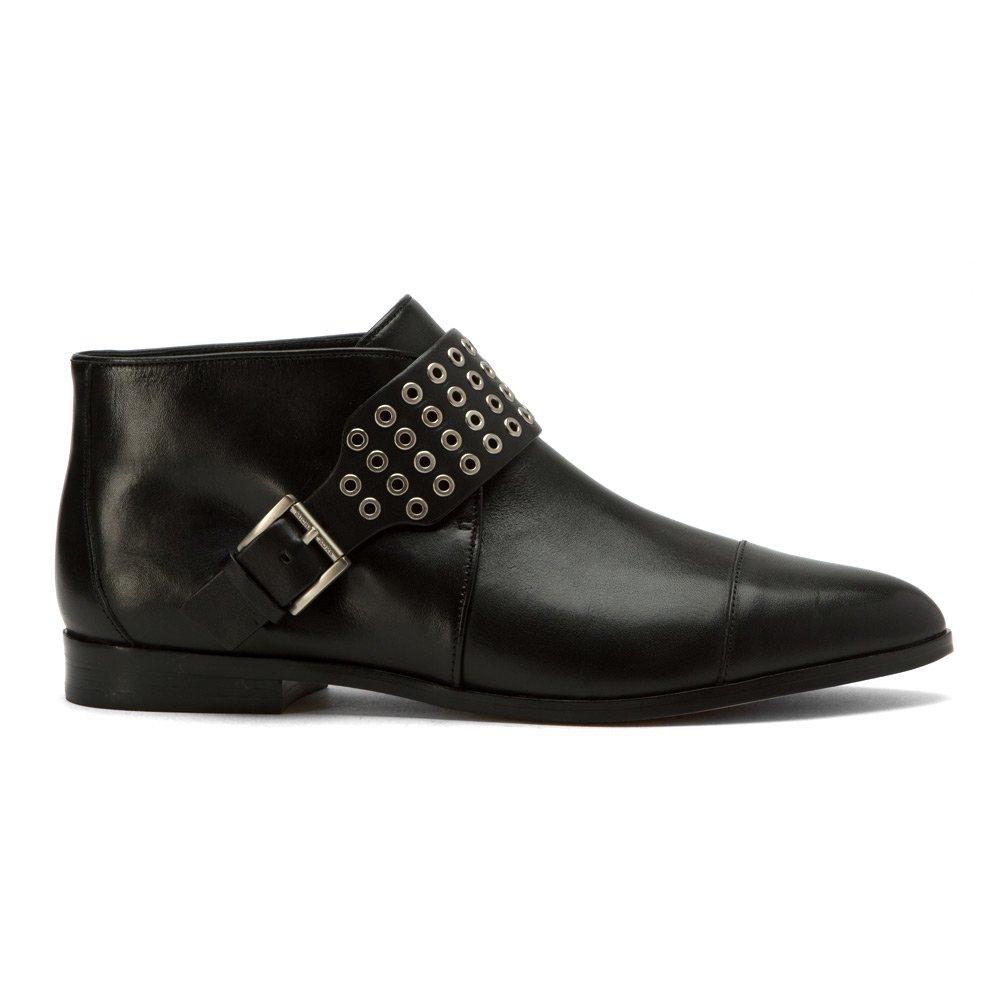 b0fe77b79a9 MICHAEL Michael Kors Women s Brody Flat Bootie Black Vachetta Oxford 6.5 M   Amazon.co.uk  Shoes   Bags