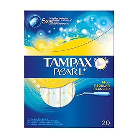 Tampax Pearl Regular Tampones con Aplicador - 139 gr: Amazon.es: Amazon Pantry