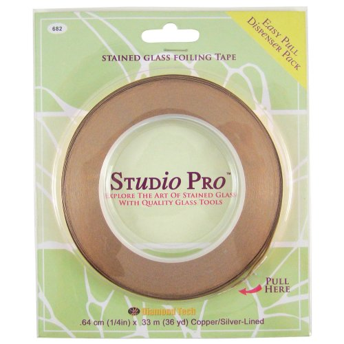 Studio Pro 1/4-Inch Silver Lined Copper (Diamond Silver Foil)
