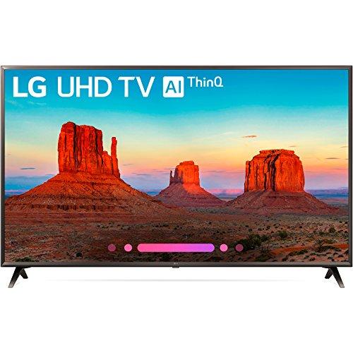 LG 65UK6300PUE 65-Inch 4K Ultra HD Smart TV (2018 Model)