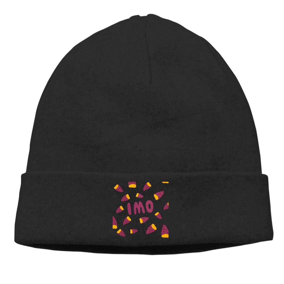 Nskngr Sweet Potato Cap Unisex Cuffed Oversized Baggy Knit Hat Cap Ski Slouchy Hat
