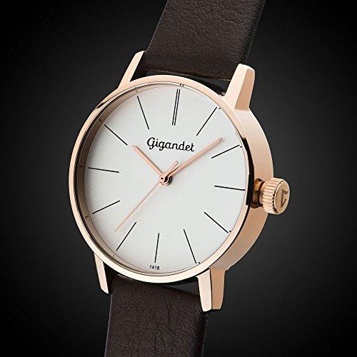 Gigandet women 39 s quartz wrist watch minimalism analogue for Minimal art wrist watch