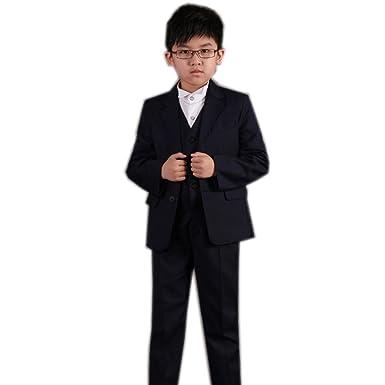 068923714dc04  ブラボーライブ  男の子 フォーマル スーツ 5点セット 110 120 130 140 150 子供