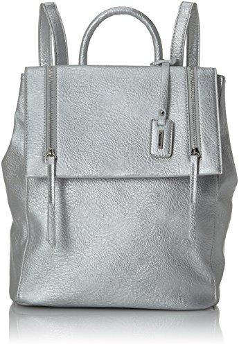 Remonte Q0501, Bolsos mochila Mujer, Silber (Silber/platin), 38x32x16 cm (B x H T)